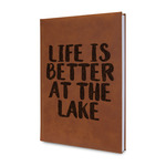 Lake House Leatherette Journal (Personalized)