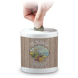 Lake House Coin Bank (Personalized)