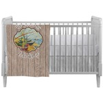 Lake House Crib Comforter / Quilt (Personalized)