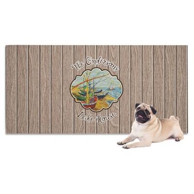 Lake House Dog Towel (Personalized)