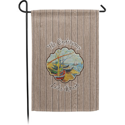 Lake House Garden Flag - Single or Double Sided (Personalized)