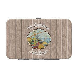 Lake House Genuine Leather Small Framed Wallet (Personalized)