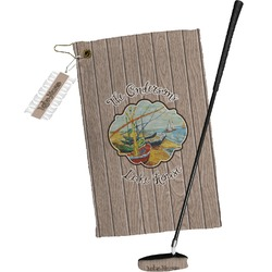 Lake House Golf Towel Gift Set (Personalized)