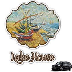 Lake House Graphic Car Decal (Personalized)