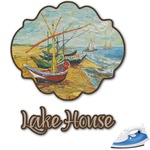 Lake House Graphic Iron On Transfer (Personalized)