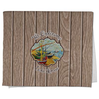 Lake House Kitchen Towel - Full Print (Personalized)