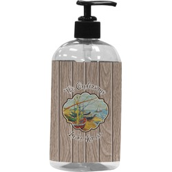 Lake House Plastic Soap / Lotion Dispenser (Personalized)
