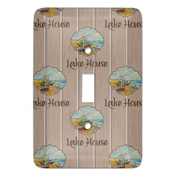 Lake House Light Switch Covers (Personalized)