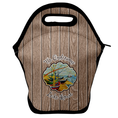 Lake House Lunch Bag w/ Name or Text