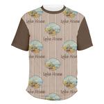 Lake House Men's Crew T-Shirt (Personalized)
