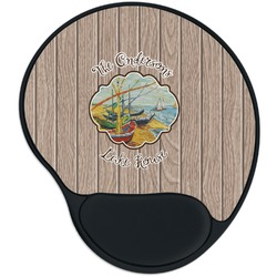 Lake House Mouse Pad with Wrist Support