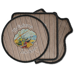 Lake House Iron on Patches (Personalized)