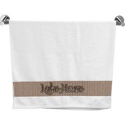 Lake House Bath Towel (Personalized)