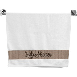 Lake House Bath Towel (Personalized)
