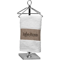 Lake House Finger Tip Towel (Personalized)