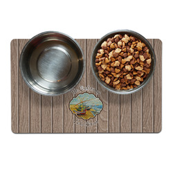 Lake House Dog Food Mat (Personalized)