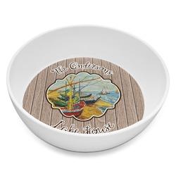Lake House Melamine Bowl 8oz (Personalized)