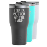 Lake House RTIC Tumbler - Black (Personalized)
