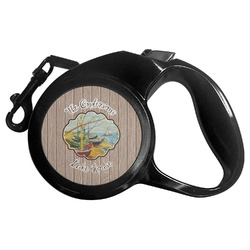 Lake House Retractable Dog Leash - Multiple Sizes (Personalized)