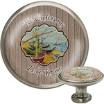 Lake House Cabinet Knob (Silver) (Personalized)