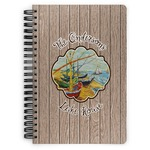 Lake House Spiral Bound Notebook (Personalized)