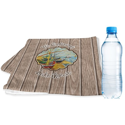 Lake House Sports & Fitness Towel (Personalized)