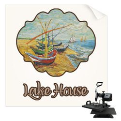 Lake House Sublimation Transfer (Personalized)