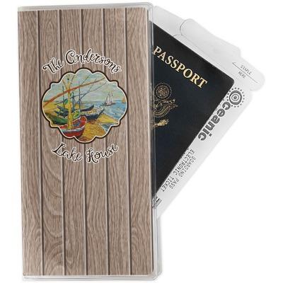 Lake House Travel Document Holder