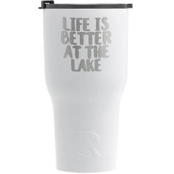 Lake House RTIC Tumbler - White (Personalized)