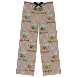 Lake House Womens Pajama Pants (Personalized)