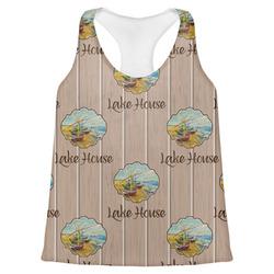 Lake House Womens Racerback Tank Top (Personalized)