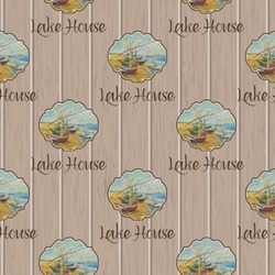 Lake House Wrapping Paper (Personalized)