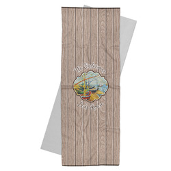 Lake House Yoga Mat Towel (Personalized)