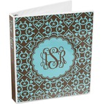 Floral 3-Ring Binder (Personalized)