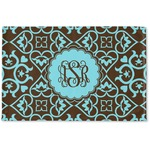 Floral Woven Mat (Personalized)