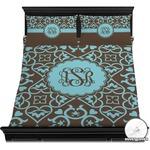 Floral Duvet Cover Set (Personalized)