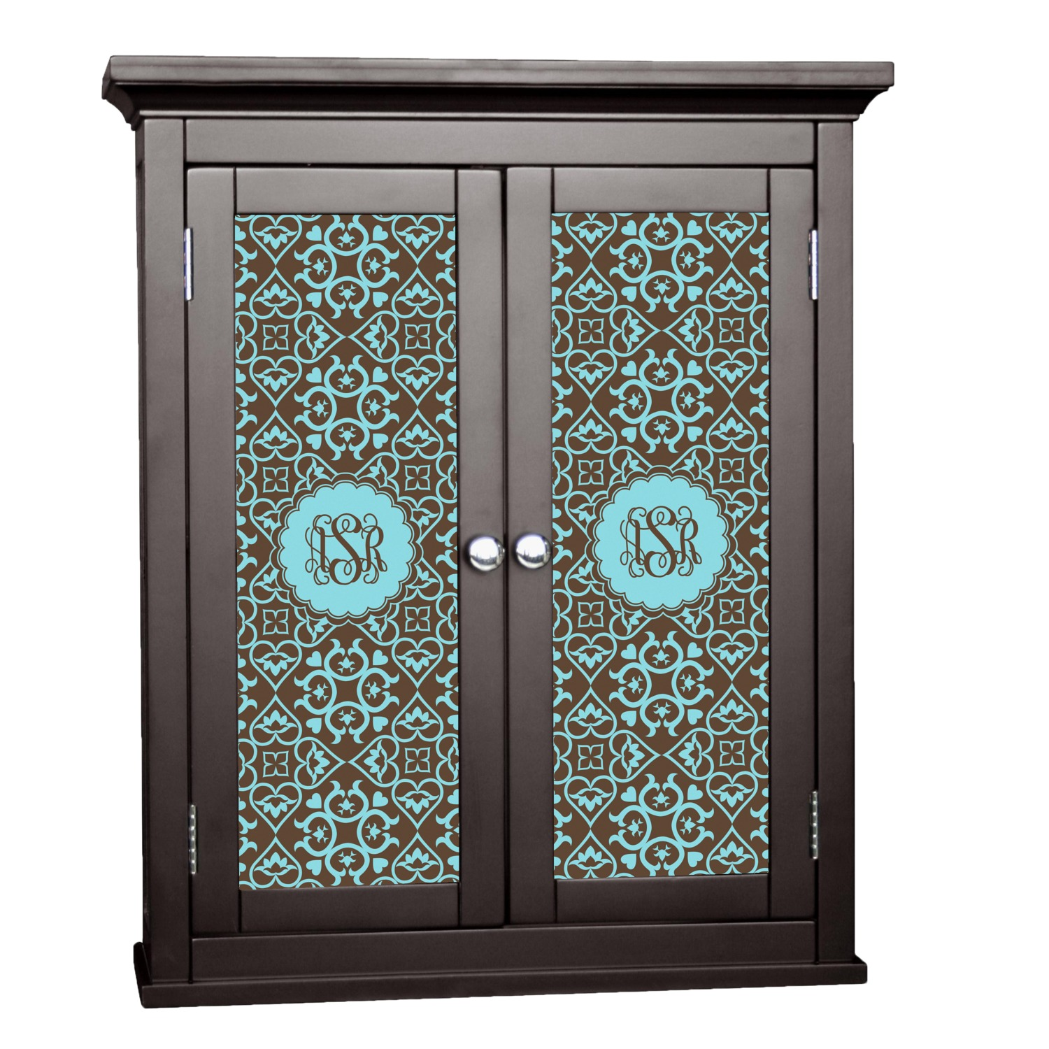 Floral Cabinet Decal - Large (Personalized) - YouCustomizeIt