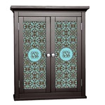Floral Cabinet Decal - Custom Size (Personalized)