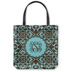 Floral Canvas Tote Bag (Personalized)