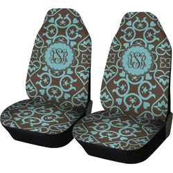 Floral Car Seat Covers (Set of Two) (Personalized)
