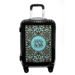 Floral Carry On Hard Shell Suitcase (Personalized)