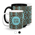 Floral Coffee Mugs (Personalized)