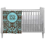 Floral Crib Comforter / Quilt (Personalized)