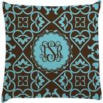 Floral Decorative Pillow Case (Personalized)