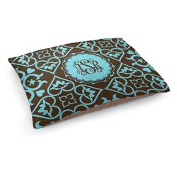 Floral Dog Pillow Bed (Personalized)