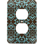 Floral Electric Outlet Plate (Personalized)