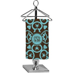 Floral Finger Tip Towel - Full Print (Personalized)