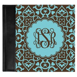 Floral Genuine Leather Baby Memory Book (Personalized)