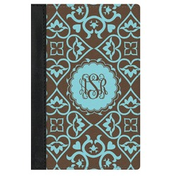 Floral Genuine Leather Passport Cover (Personalized)