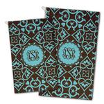 Floral Golf Towel - Full Print w/ Monogram